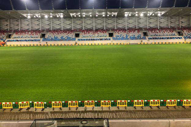 Les stars portugaises ne fouleront pas le gazon du nouveau stade. (Photo: Ville de Luxembourg)