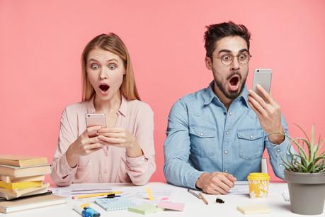 Finis les messages jour et nuit. Hotshot limite la présence numérique des employés... à leurs heures et localisation de travail. Dans un environnement mobile, sécurisé par défaut et «compliance» grâce à toutes les réglementations. (Photo: Shutterstock)