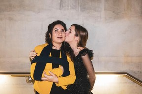 Fanny Antoine et Pauline Schmaltz (Paperjam Club) ((Photo: Patricia Pitsch / Maison Moderne))
