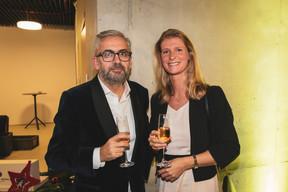 Mike Koedinger (Maison Moderne) et Susan d'Ansembourg (Franklin Covey) ((Photo: Patricia Pitsch / Maison Moderne))