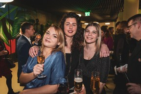 Léa Grunenwald, Léa Crusel et Delphine Theunissen (Paperjam Club) ((Photo: Patricia Pitsch / Maison Moderne))