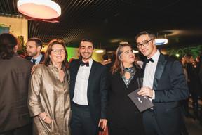 Karin Schintgen (House of Startups), Richard Karacian (Maison Moderne), Emmanuelle Ragot (Wildgen) et Julien Delpy (Paperjam Club) ((Photo: Patricia Pitsch / Maison Moderne))