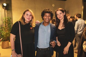 Larissa Thomas (Imperium), à gauche ((Photo: Patricia Pitsch / Maison Moderne))