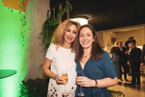 Naouelle Tir (Prolingua) et Emmanuelle Thivollard (Maison Moderne) ((Photo: Patricia Pitsch / Maison Moderne))