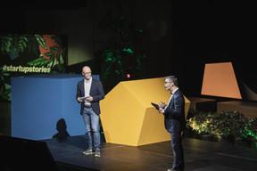 Thierry Raizer (Paperjam) et Julien Delpy (Paperjam Club) ((Photo: Patricia Pitsch et Jan Hanrion / Maison Moderne))