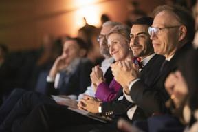 Sasha Baillie (Luxinnovation), Richard Karacian (Maison Moderne) et Geoffroy Bazin (BGL BNP Paribas) ((Photo: Patricia Pitsch et Jan Hanrion / Maison Moderne))