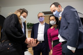 Ilana Devillers (F4A), Jérôme Wittamer (Expon Capital), Diane Tea (LBAN) et José Soares (SnT) ((Photo: Simon Verjus/Maison Moderne))
