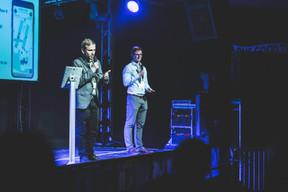 Jacob Arnould et Greg Janota (MyMedBot) ((Photo : Arthur Ranzy / Maison Moderne))