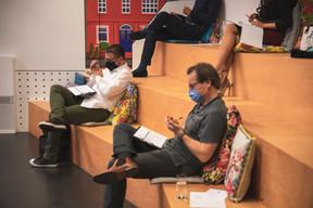 Christophe Bianco (Excellium Services) et Marc Neuen (Linc) ((Photo : Simon Verjus/Maison Moderne))