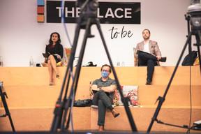 Diane tea (LBAN), Marc Neuen (Linc) et José Soares (SnT) ((Photo : Simon Verjus/Maison Moderne))