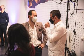 José Soares (SnT) et Christophe Bianco (Excellium Services) ((Photo : Simon Verjus/Maison Moderne))