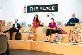 José Soares (SnT), Diane Tea (LBAN), Vania Henry (Equilibre) et Jérôme  Wittamer (Expon Capital) ((Julian Pierrot / Maison Moderne))