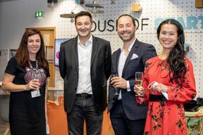 Ann Godart, Martin Guérin (LuxembourgCityIncubator), José Soares (SnT) et Diane Tea (LBAN) ((Julian Pierrot / Maison Moderne))