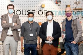Cédric Spaas (Arspectra), Jayan Jevanesan, Caner Dolas (Gamma AR) et Jérôme Wittamer (Expon Capital) ((Julian Pierrot / Maison Moderne))
