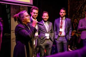 Emmanuelle Ragot,Guillaume Dally, Pablo Umbon-Manzano et Brice Bertolotti (Wildgen) ((Photo: Jan Hanrion/Maison Moderne))