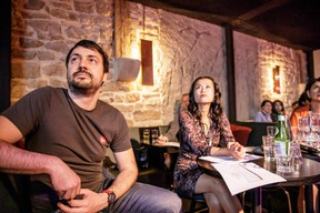 Todor Madzharov (Job Today) et Diane Tea (LBAN) ((Photo: Jan Hanrion/Maison Moderne))