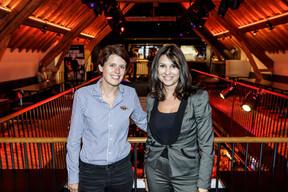 Laura Raimondi (Tallis consulting) et Cardine Azevedo (Société Générale) ((Photo: Jan Hanrion/Maison Moderne))