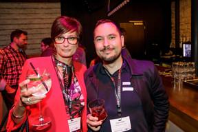 Nathalie Cravatte (Nc coaching consulting) et Pedro Gomes (Bonifas Architecture) ((Photo: Jan Hanrion/Maison Moderne))