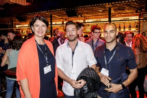 Vania Henry (Legitech), Gregory Di Pompeo et Elmahdi Khokha (Impulse sports) ((Photo: Jan Hanrion/Maison Moderne))