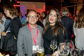 Francis Gasparotto (Maison Moderne) et Marie-Laure Moreau (CLC) ((Photo: Jan Hanrion/Maison Moderne))
