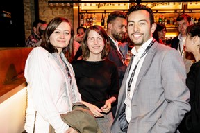 Julie Simier à gauche et Mustafa Senhaji à droite (RocketMail) ((Photo: Jan Hanrion/Maison Moderne))