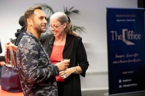 Nasir Zubairi (Lhoft) et Denise Voss (LuxFlag) ((Photo: Jan Hanrion/Maison Moderne))