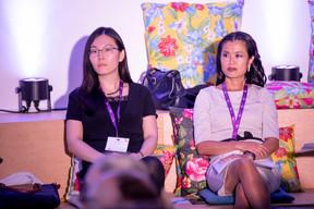 Lily Wang (Expon Capital) et Diane Tea (LBAN) ((Photo: Jan Hanrion/Maison Moderne))
