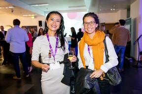 Diane Tea (LBAN) et Stéphanie Silvestri (Luxinnovation) ((Photo: Jan Hanrion/Maison Moderne))