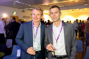 Olivier Gilson (Nuveen) et David Kiener (FundsQ) ((Photo: Jan Hanrion/Maison Moderne))