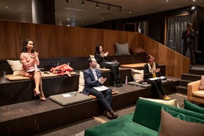 Diane Tea (LBAN), José Soares (SnT), Lily Wang (Expon Capital) et Vania Henry (Equilibre) ((Photo: Julian Pierrot / Maison Moderne))