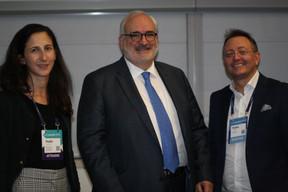 Nadia Djebbar (Ministry for consumer protection), Jean-Jacques Welfring (Ambassadeur du Luxembourg au Portugal) et Pedro Castilho (Verbalius) ((Photo: Cristina Tita Andrez))