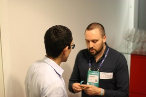 Damian Ciesielski (Tended) à droite ((Photo: Cristina Tita Andrez))