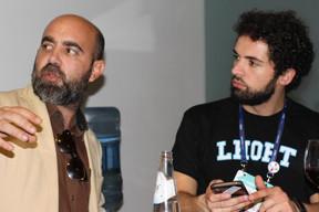 Romain Iovalone (LHoFT) à droite ((Photo: Cristina Tita Andrez))