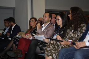 Polina Montano (Job Today), José Soares (Université du Luxembourg), Lily Wang (Expon Capital) et Fatima Cardoso (Vodafone) ((Photo: Cristina Tita Andrez))