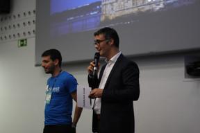 Carlos Morais (Nimest Tech) et Julien Delpy (Paperjam Club) ((Photo: Cristina Tita Andrez))