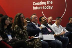 Lily Wang (Expon Capital), Fatima Cardoso (Vodafone), Pedro Castilho (Verbalius), Pranjul Shah (Université du Luxembourg) et Jean-Michel Ludwig (Luxinnovation) ((Photo: Cristina Tita Andrez))