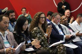 José Soares (SnT), Lily Wang (Expon Capital), Fatima Cardoso (Vodafone), Pedro Castilho (Verbalius) et Pranjul Shah (Université du Luxembourg) ((Photo: Cristina Tita Andrez))