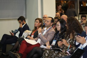 Polina Montano (Job Today), José Soares (SnT), Lily Wang (Expon Capital) et Fatima Cardoso (Vodafone) ((Photo: Cristina Tita Andrez))
