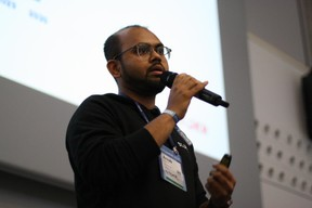 Arnab Naskar (Stokr) ((Photo: Cristina Tita Andrez))