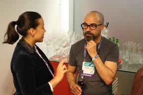 Carlos Cerqueira (ESA BIC Portugal) à droite ((Photo: Cristina Tita Andrez))