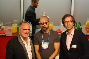 Carlos Cerqueira (ESA BIC Portugal) et Luis Galveias (LPEA) à droite ((Photo: Cristina Tita Andrez))