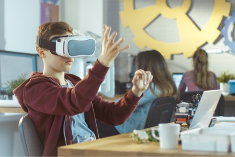 Trois start-up intègrent le TalentHub du Lycée technique des arts et métiers. Et 10 à 15 autres suivront après l'été. (Photo: Shutterstock)