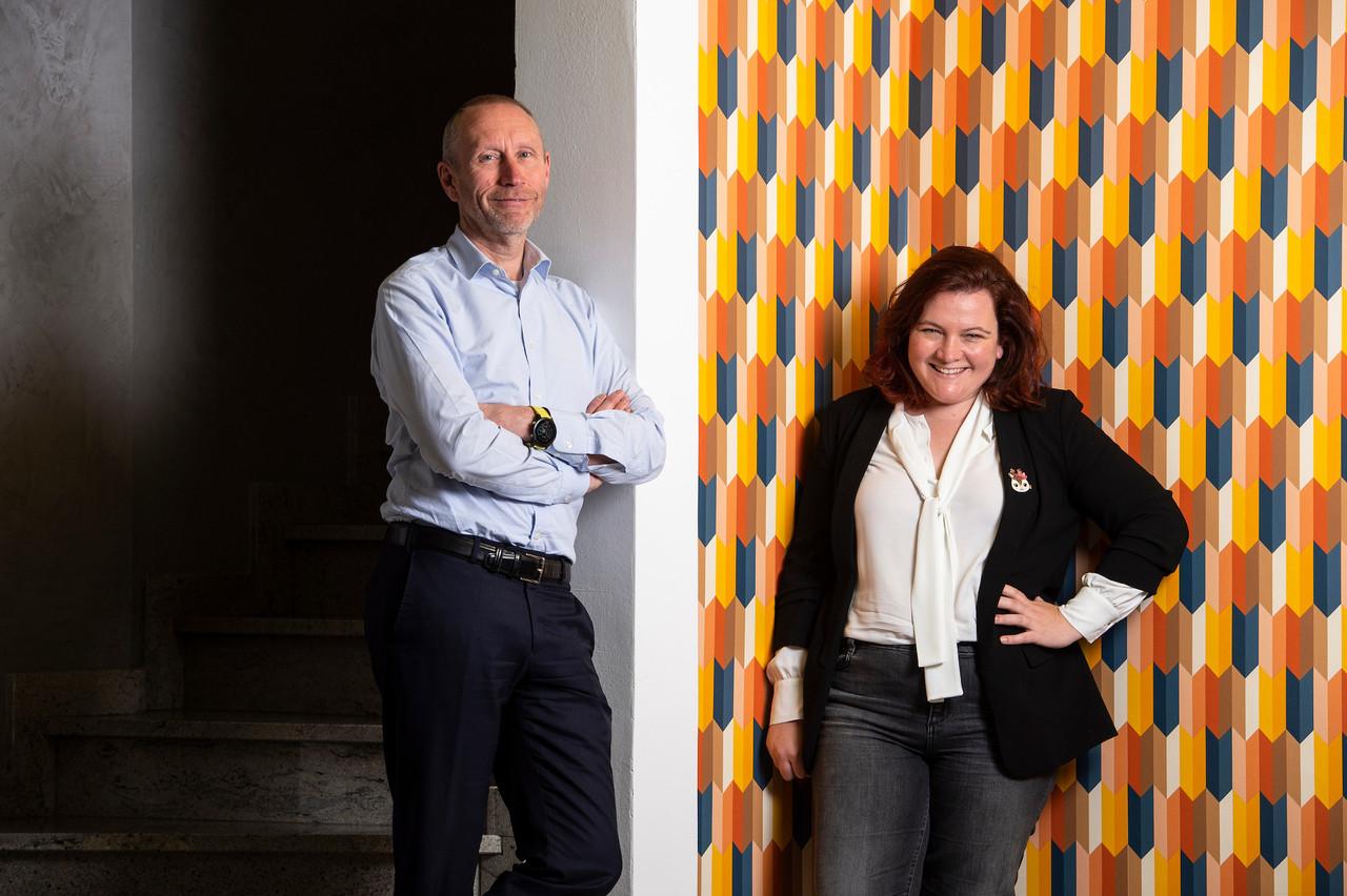 ThierrySmets et GaëlleHaag annoncent en même temps une nouvelle levée de fonds, de 820.000 euros, et le lancement de leur plate-forme de gestion pilotée d'épargne pour les femmes… et les hommes. (Photo: Archives Maison Moderne)