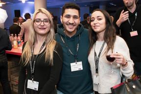 Anastasiya Yankovich (Zenview), Mohemmed Khobban (Jackspot) et Meryem Rebbaj (Jackspot) ((Photo: Jan Hanrion/ Maison Moderne))
