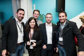 Ann Godart (LCI), Bastien Berg (HoST), Kim Blidkas (Tillit) et Olivier Lombardo (Dennemeyer & Associate) ((Photo: Jan Hanrion/ Maison Moderne))