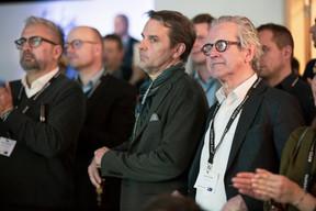 Denis Fellens (Interlycées) à droite ((Photo: Jan Hanrion/ Maison Moderne))