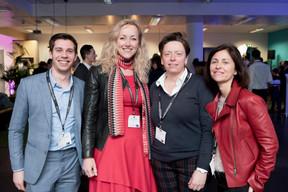Charles Pozzo Di Borgo (Celis Real Estate), Béatrix Charlier (TemP'OPerandi), Gaetane Meilleur (AIBM) et Geneviève Chabot (PAMI Lux) ((Photo: Jan Hanrion/ Maison Moderne))