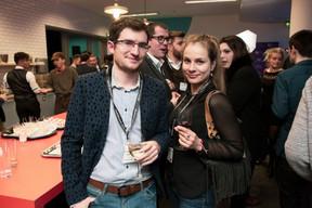 Guillaume Chatelain (Serpico) et Desislava Radeva (Accenture Luxembourg) ((Photo: Jan Hanrion/ Maison Moderne))