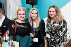 Katerina Kubova (Chevalier & Sciales) et Larissa Thomma (Imperium Real Estate), à droite ((Photo: Jan Hanrion/ Maison Moderne))