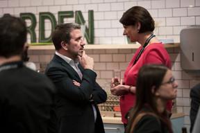 Vania Henry (Legitech, à droite ((Photo: Jan Hanrion/ Maison Moderne))